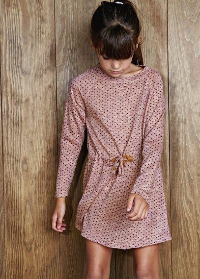 MANGAO // NEW - Kleid mit Punktemuster