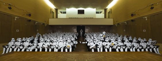 16 Delightful Pictures Of Stormtroopers Enjoying Their Day Off