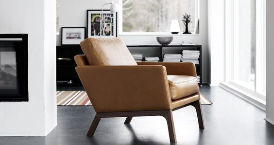 The arm chair  From Boconcept - this great store!