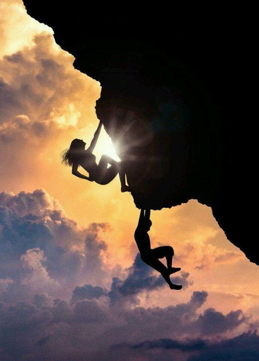 Hoy Me Enfoco En Triunfo Compartiendo Luz Con Sol Escalada En Roca Aventuras Al Aire Libre Deportes De Aventura