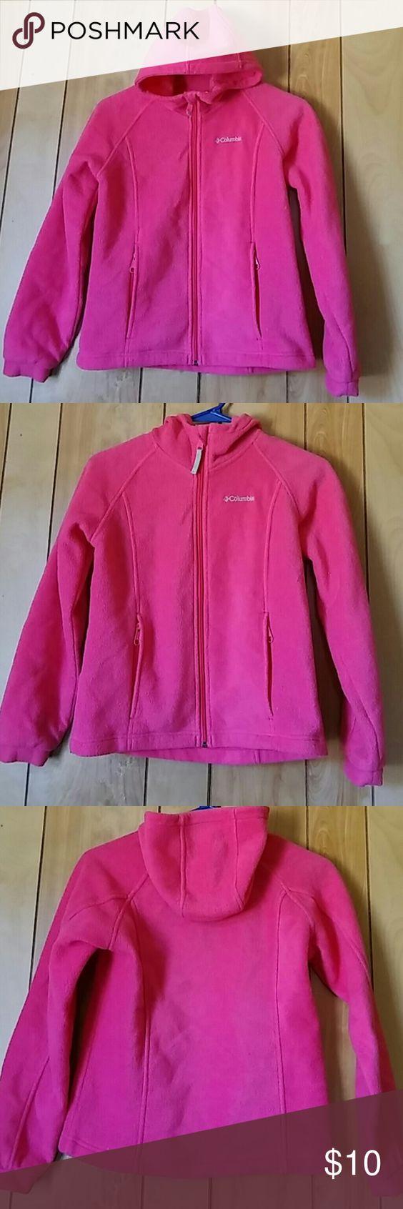 Columbia pink hoodie Columbia Sportswear Company Pink Zip up hoodie Columbia Shirts & Tops Sweatshirts & Hoodies