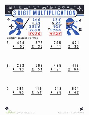 math worksheet : 1000 ideas about multiplication worksheets on pinterest  : Grade 5 Multiplication Worksheets