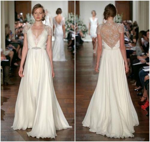 Jenny packham wedding dresses fall 2013 shimmering for How much are jenny packham wedding dresses