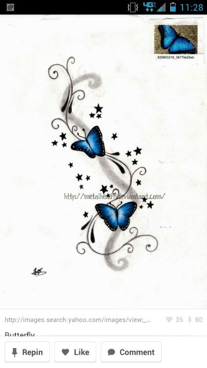 Shoulder, to rework my existing butterfly