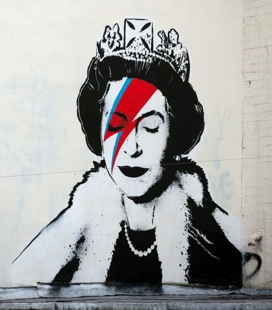 бэнкси королева
