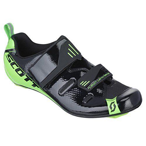 Scott Tri Pro Triathlon Fahrrad Schuhe schwarz/grün 2016: Größe: 45 - http://on-line-kaufen.de/scott/45-eu-scott-tri-pro-triathlon-fahrrad-schuhe-gruen