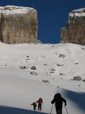Brecha de Rolan  Pirineos