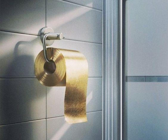 Тоалетна хартия от злато - Like a Lady