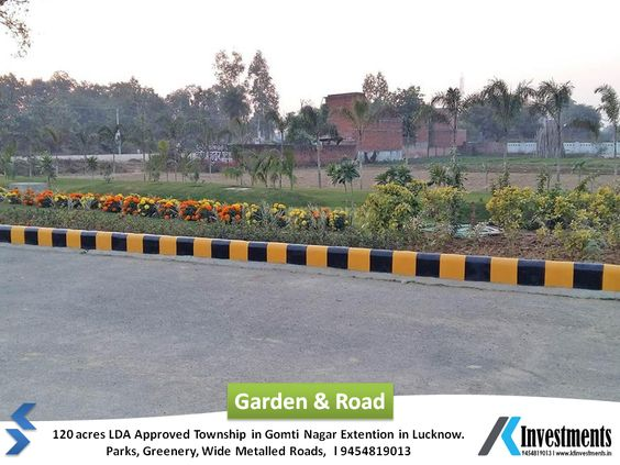 lda plot in gomti nagar
