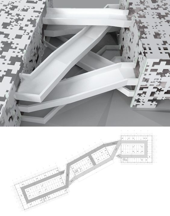 Chaotic appearance linear behaviour magic pinterest for Linear organization in architecture