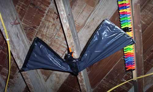 Bats - Static prop DIY
