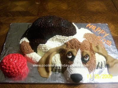 I'd want this cake BASSET LVE~Google: