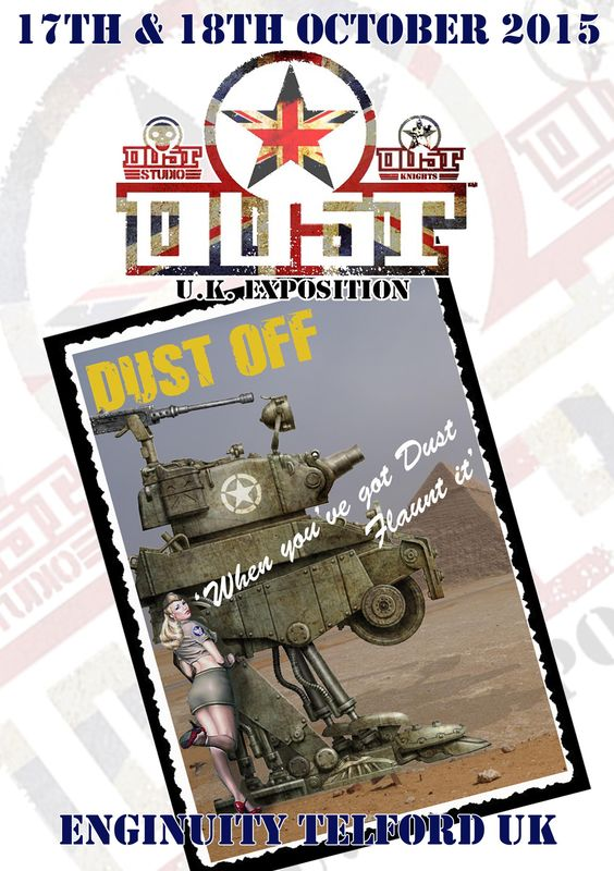 Dust Off 2015 vents programme cover