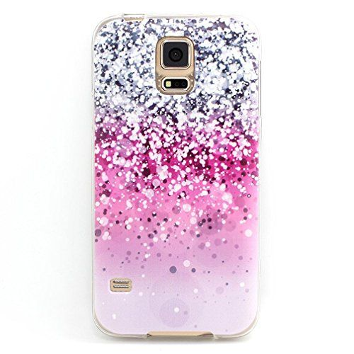 Let it be free New TPU case cover protective bumper for Samsung Galaxy S5 i9600 (Not for S5 Mini)