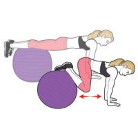 """stability ball! """"The Fastest Way to Lose 10 Pounds"""""""