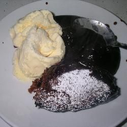 Australain chocolate self saucing pudding. Soooo goood!