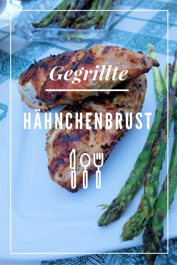 Gegrillte Hähnchenbrust - Kathys Küchenkampf