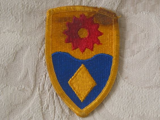 MILITARY SHOULDER PATCH 49th Military Police Brigade California Only Unit   http://ajunkeeshoppe.blogspot.com/   Junk_683