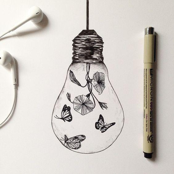 Bulb butterlfy effect ©Alfred Basha