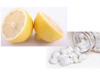 """~ Face Mask (aspirin, baking soda, lemon) """"beauty secret"""" from Doctor Oz!"""