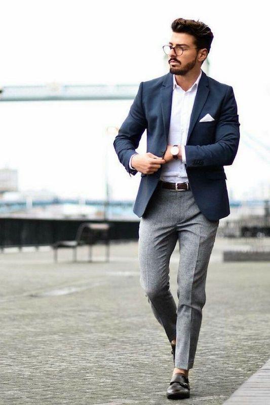 Smart Casual Dresscode Beispiel 1 in 2020 | Männer kleidung