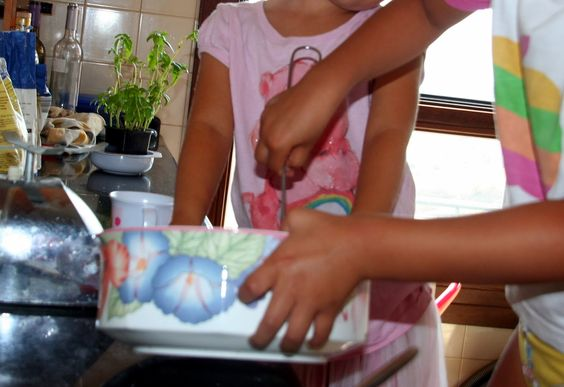 Gastronomia: Cozinha com crianças