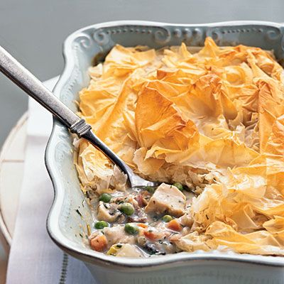 This is my favorite chicken pot pie recipe and it from Cooking Light!