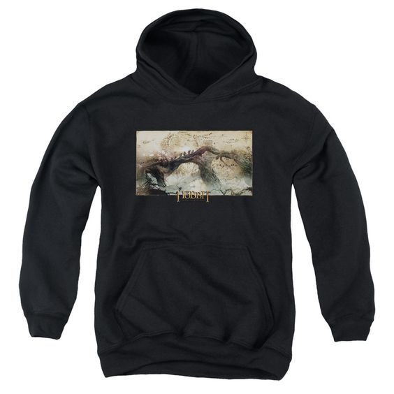 Hobbit/Epic Journey Youth Pull-Over Hoodie in, Boy's