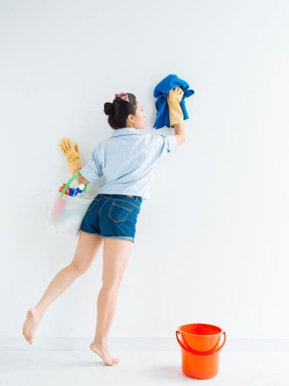 DIY Network shares tips for removing dirt, stains and smudges from painted walls without causing streaking or water damage.
