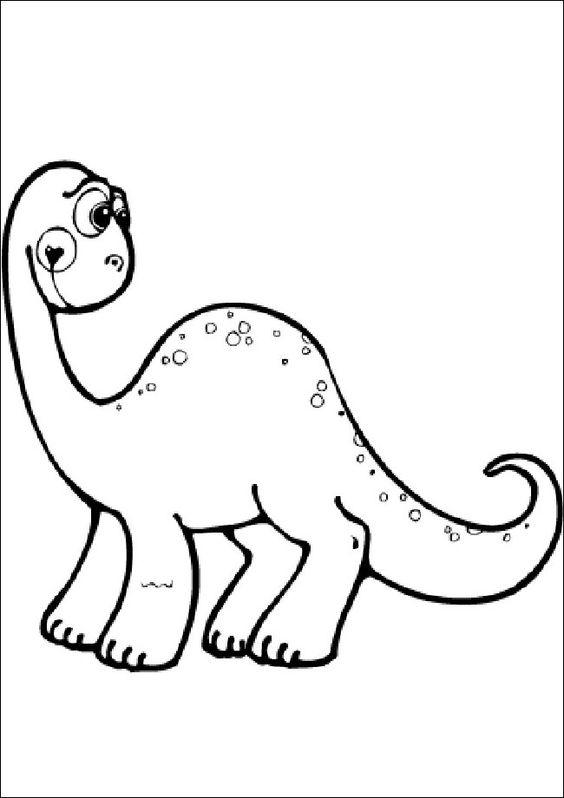 Ausmalbilder Dinosaurier 14 | Dino Party | Pinterest
