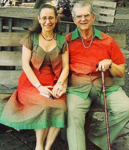 La pareja degradada.