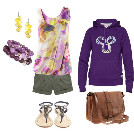 Purple Daze, created by #raeanne-anderson on polyvore.com