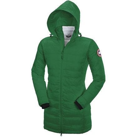Canada GooseCamp Down Hooded Jacket - Women's