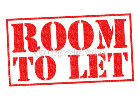 quarto para arrendar — Imagem Stock #54049083