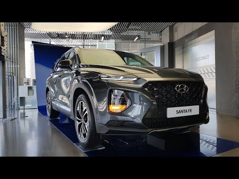 2019 Hyundai Santa Fe Exterior Interior Walk Around Tour Youtube Hyundai Santa Fe Hyundai Dream Cars