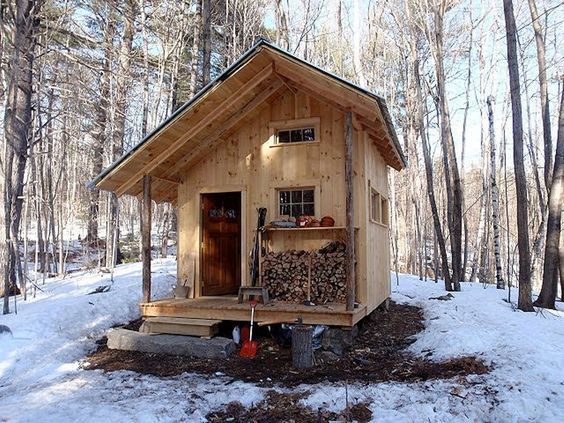 Small Cabin Design Ideas steel cabin design in the woods 5jpg Unique Small Cabin Plans The Smallest Cabin Plans Small Home Design Ideas