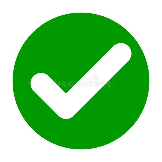 Flat round check mark green icon, button. Tick symbol isolated on white backgrou , #sponsored, #green, #icon, #button, #Flat, #check #ad