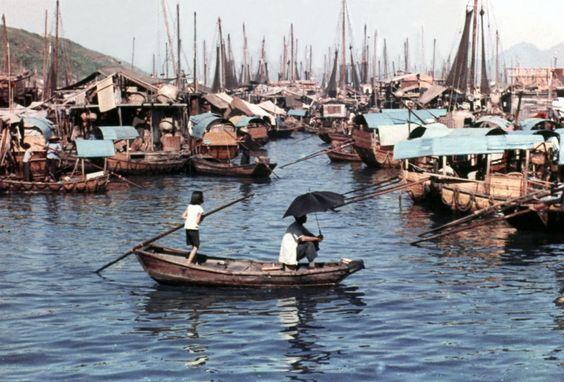 Aberdeen Fishing village, Old Hong Kong