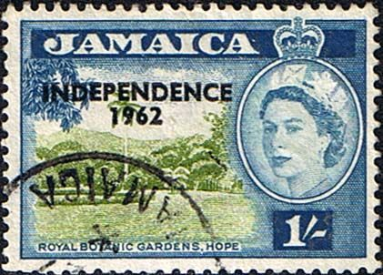 Jamaica Independence stamp,  Jamaica 1962 SG 188 Independence Overprint Fine Mint SG 188 Scott 188 Other Stamps of the west Indies