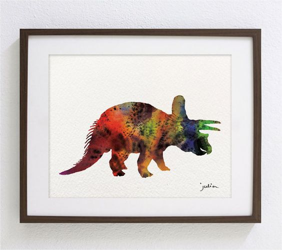 Decorating Child S Room With Dinosaur Cut Outs