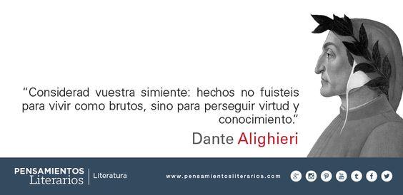 Dante Alighieri. Sobre la simiente del hombre.: