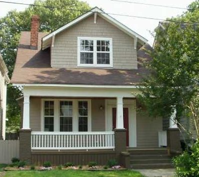 Bungalow Earth Tones With Darker Foundation And Front Steps Late Victorian Exterior Paint And