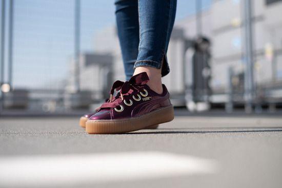 puma basket platform kiss