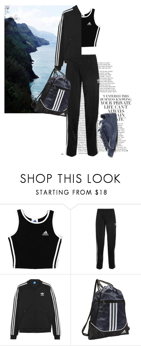 """Untitled #1400"" by martso ❤ liked on Polyvore featuring мода, adidas и adidas Originals"
