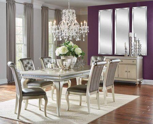 21++ Hefner silver dining set Top
