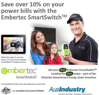 Free Embertec SmartSwitch (Victoria Only)