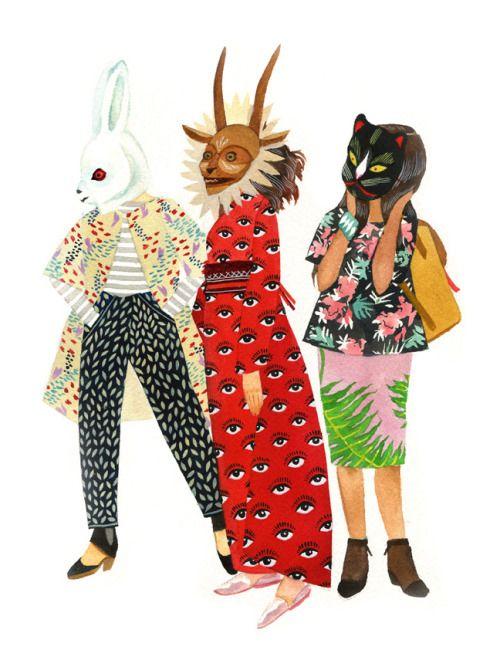 illustratedladies: Stacey Rozich.: