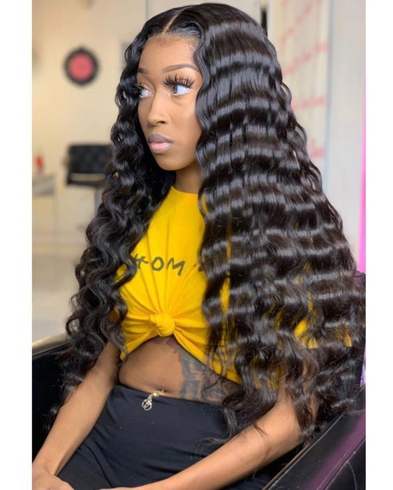Jesvia Hair Brazilian Hair Body Wave 3 Bundles With 1 Lace Closure Wig Hairstyles Hair Styles Natural Hair Styles