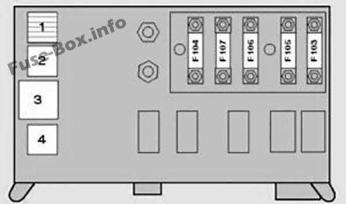 E53 X5 Fuse Box Diagram