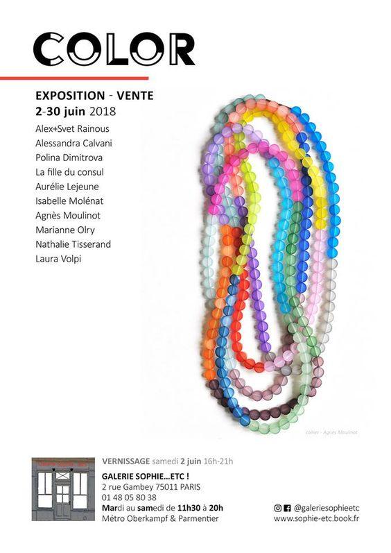 COLOR expo avec Isabelle Molénat